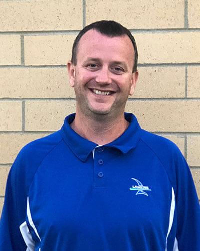 School board member Chad Barsness