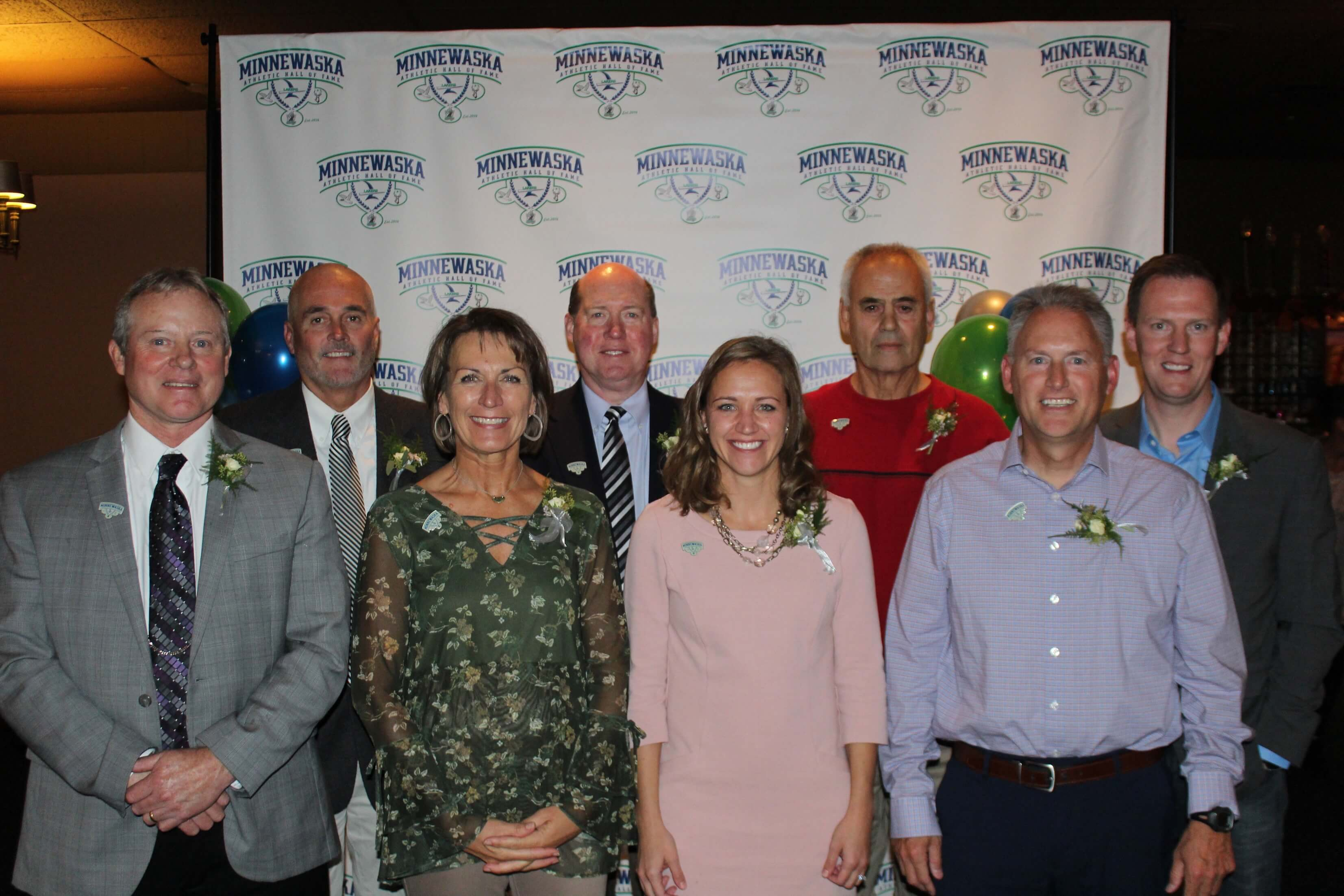 2018 Minnewaska Athletic Hall of Fame Inductees